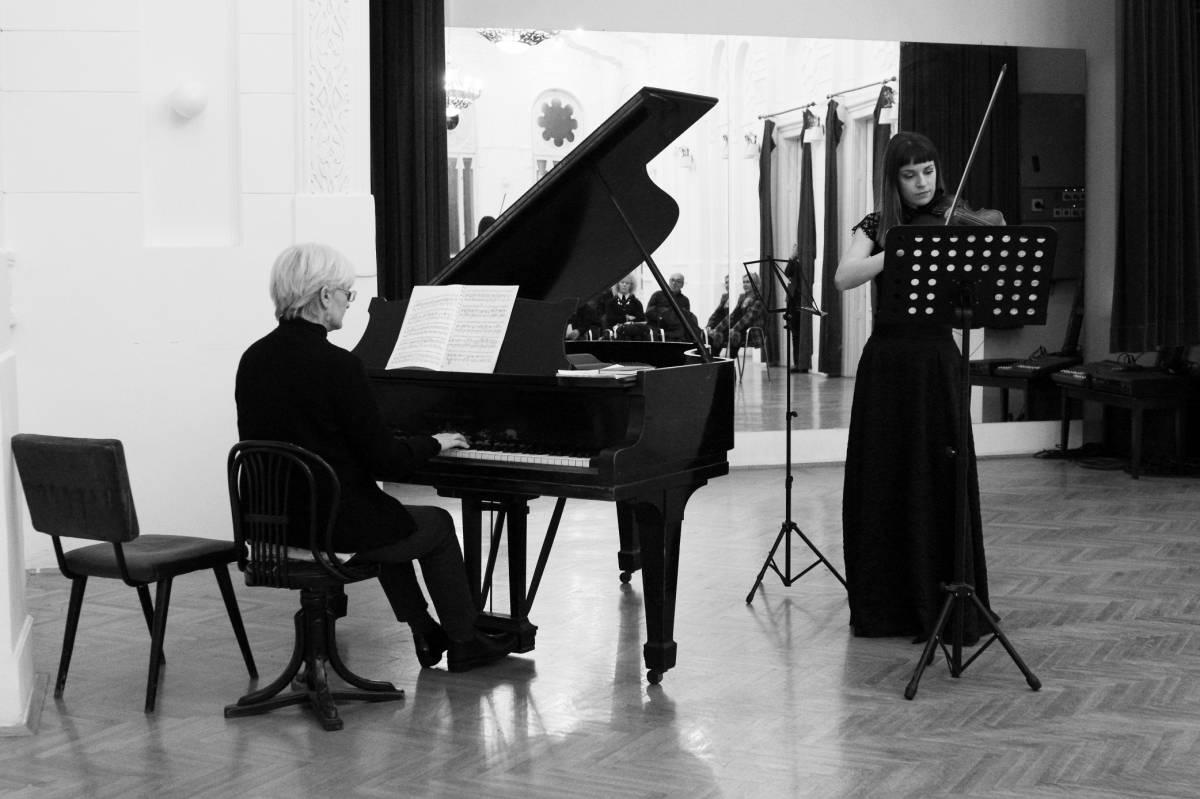 koncert studenata violine fmu – Jevrejski kulturni centar